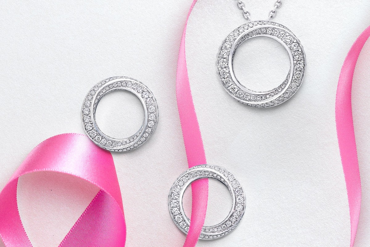 hight resolution of graff s spiral collection includes earrings and pendants complementary yet discreet mother daughter keepsakes