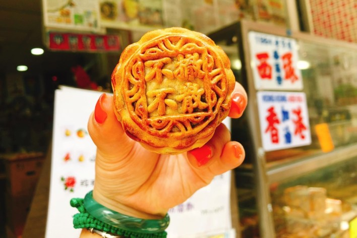Image result for mooncake hong kong protest