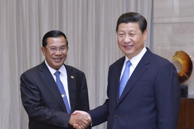 Image result for Hun sen and xi