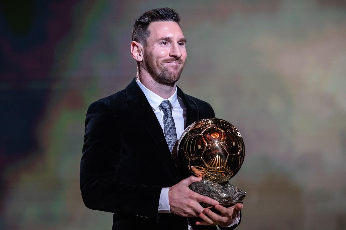 Ballon D Or Lionel Messi Beats Virgil Van Dijk For Record