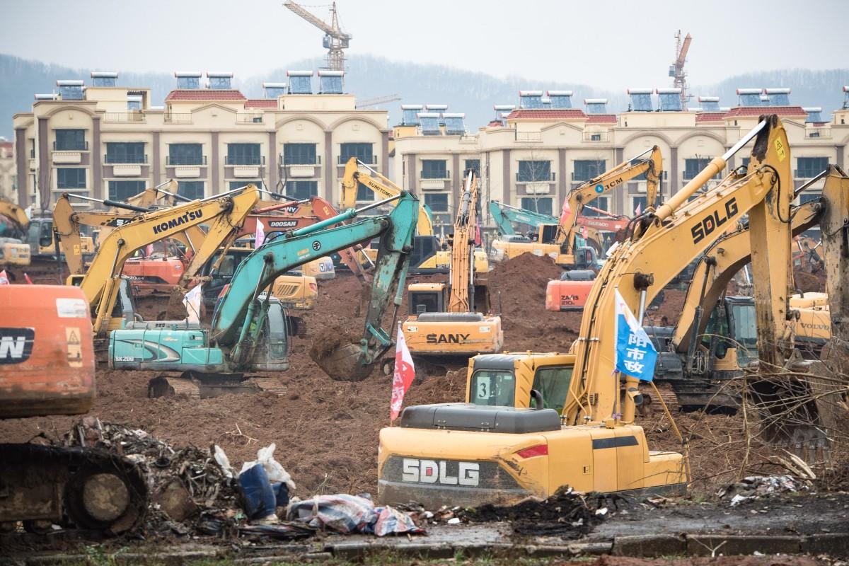 China coronavirus: rush is on in Wuhan to build treatment centre ...