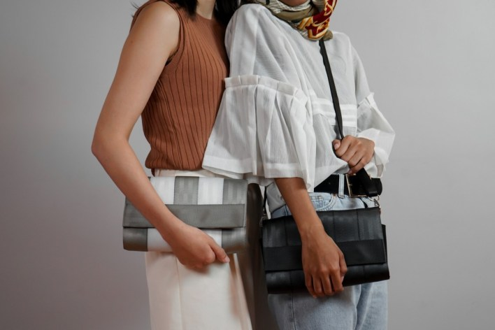 Malaysian fashion brand Biji Biji upcycles seat belts and plastic trash into runway collections in the name of sustainability | South China Morning Post