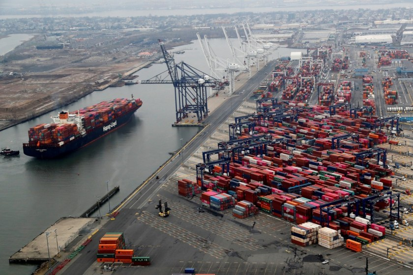 Demand for shipped goods is forecast to plunge as countries around the world close their borders due to coronavirus. Photo: Reuters