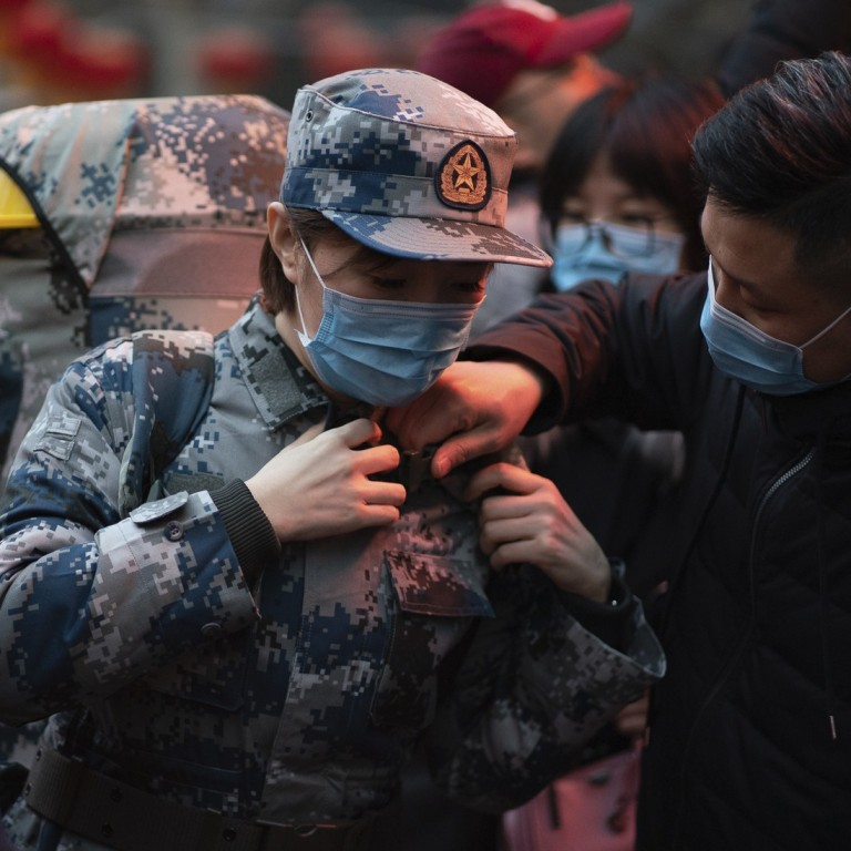 Coronavirus hospital set to open in Wuhan with 1,400 military ...