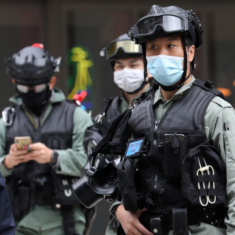 Hong Kong police caught up in coronavirus crisis after first ...