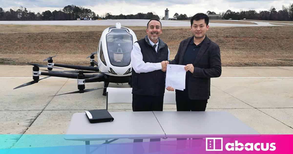 China S Flying Taxi Completes First Test Flight In The Us