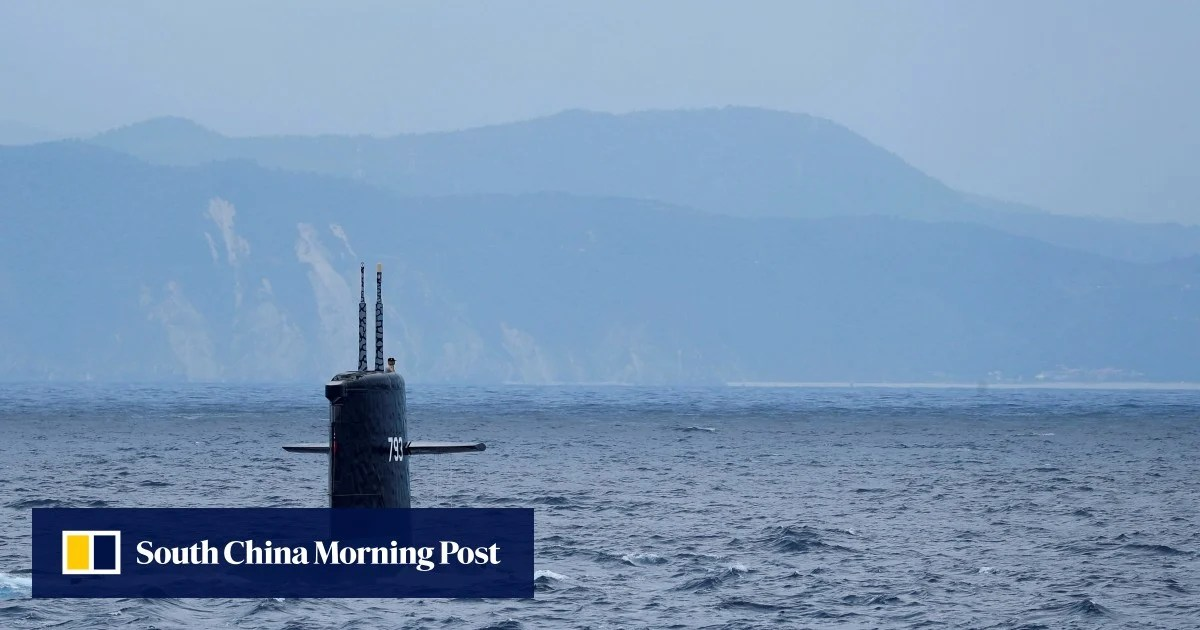 European countries helping with Taiwan's submarine project. Taipei says | South China Morning Post