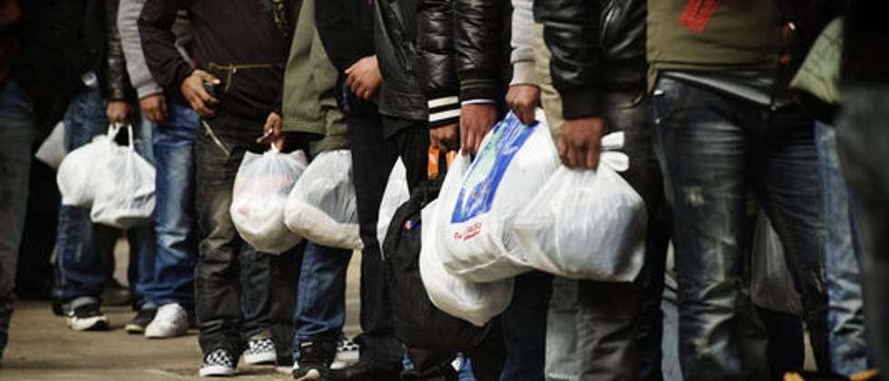 Une immigration en hausse aux frontières de l'Europe ( AFP )