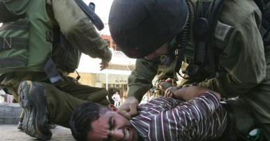 Image result for idf arrest palestinians