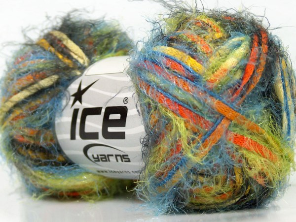 Turquoise Blue Eyelash Yarn 22778 Ice Solid Color - Year of