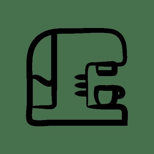 Coffee, machine Icon Free of Hand Drawn House Appliances Icons