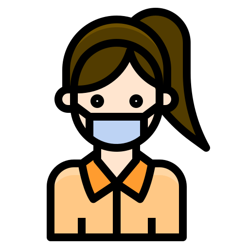 Corona Virus Mask Cartoon Png
