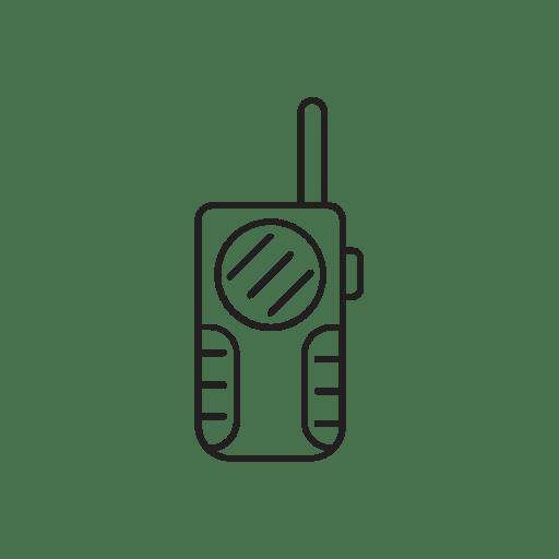Radio, walkie, talkie Symbol Kostenlos von Assorted