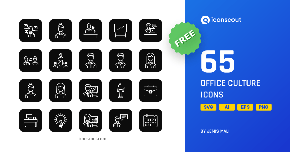 Download Download Office Culture Icon pack - Available in SVG, PNG ...