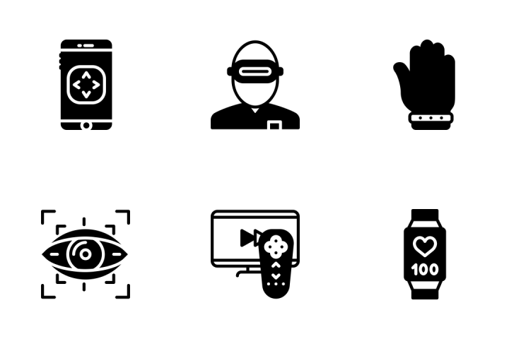 Premium Virtual Reality Icon pack download in SVG, PNG