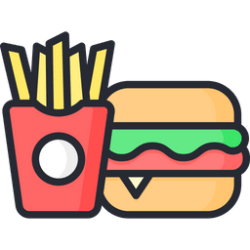 food icon fast icons license select