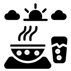 Meal Icon of Glyph style Available in SVG PNG EPS AI & Icon fonts