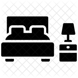 Bedroom Icon Of Glyph Style Available In Svg Png Eps Ai Icon Fonts
