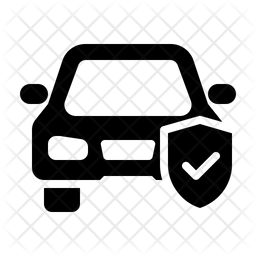 Car Insurance Icon Of Glyph Style Available In Svg Png Eps Ai Icon Fonts