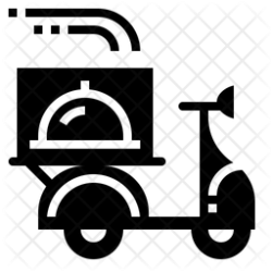 delivery icon food icons restaurant scooter service cooking license select services