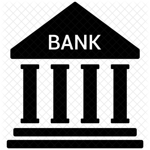 Bank Icon Of Glyph Style Available In Svg Png Eps Ai Icon Fonts