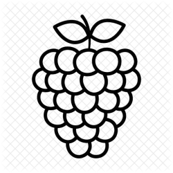 Grapes Icon of Line style Available in SVG PNG EPS AI & Icon fonts