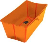 Stokke Flexi Bath Badewanne orange Babywanne