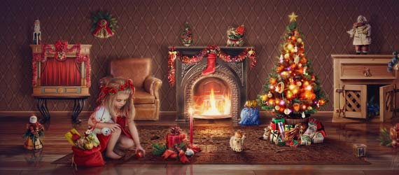 10 Beautiful Christmas Photo Manipulation Arts Digital