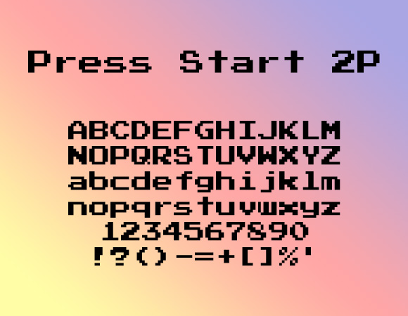 25 Free Pixel Perfect Fonts For 8 Bit Designs IDevie