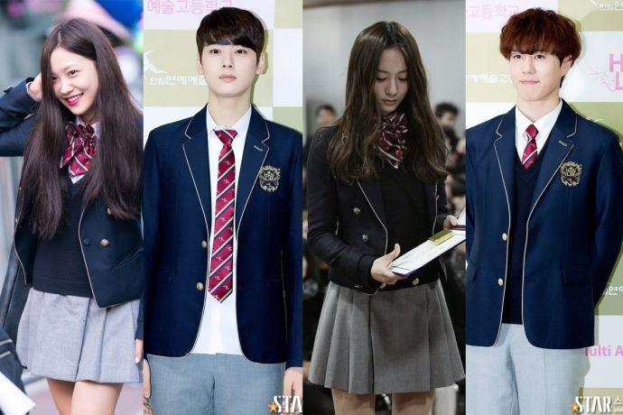 Seragam Olahraga Sekolah Korea