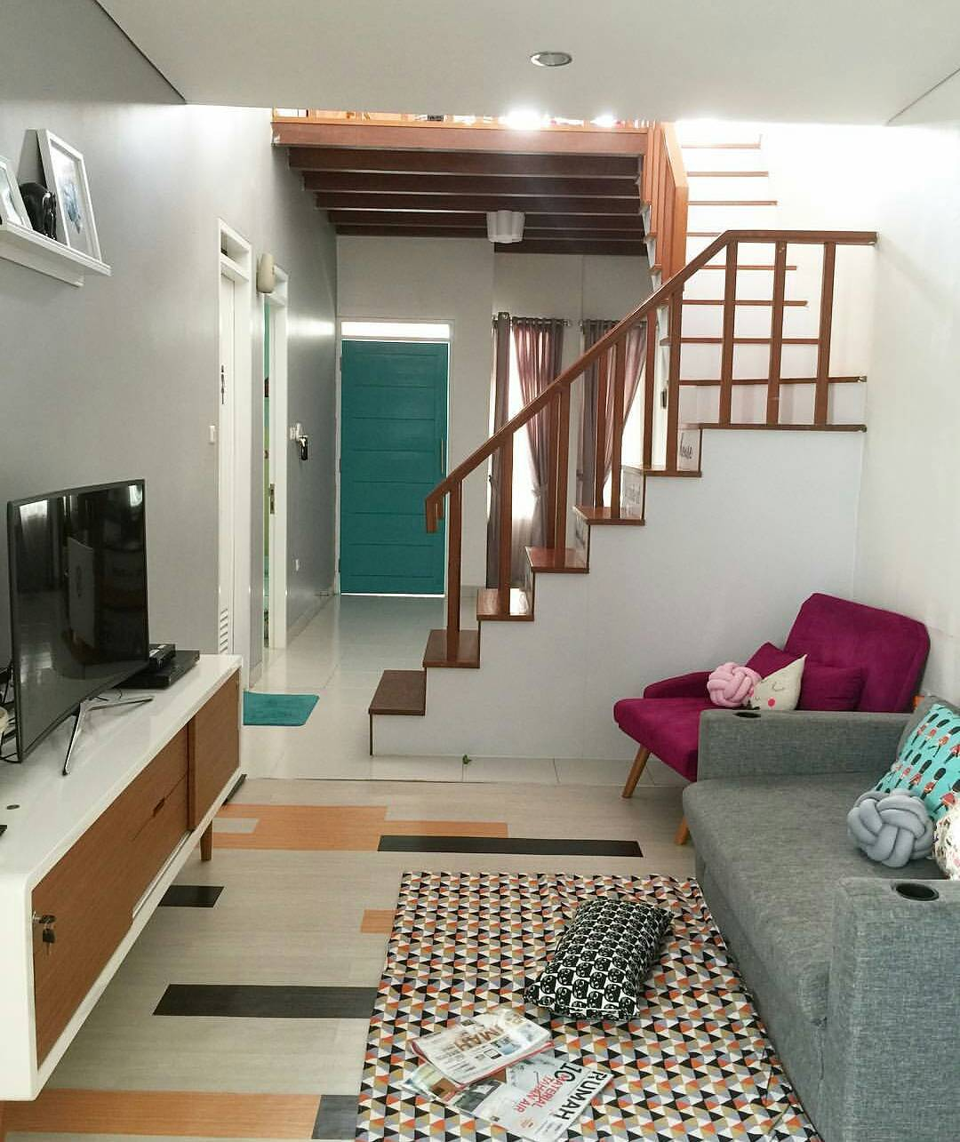 10 Desain Ruang Keluarga Kekinian Ini Pas untuk Rumah Mungil