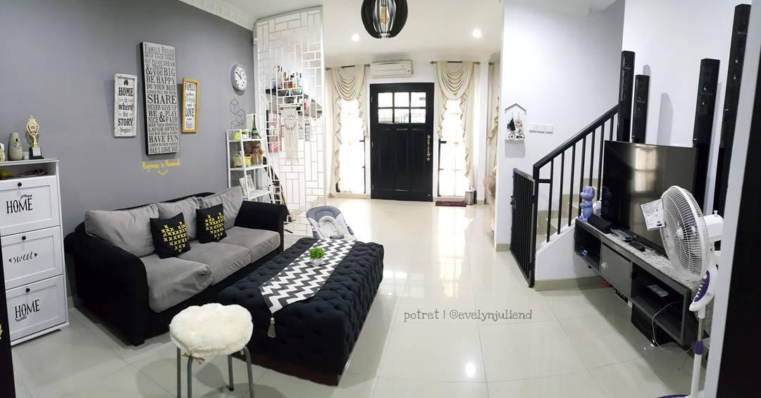 Ruang Tamu Rumah 2 Tingkat  Desainrumahidcom