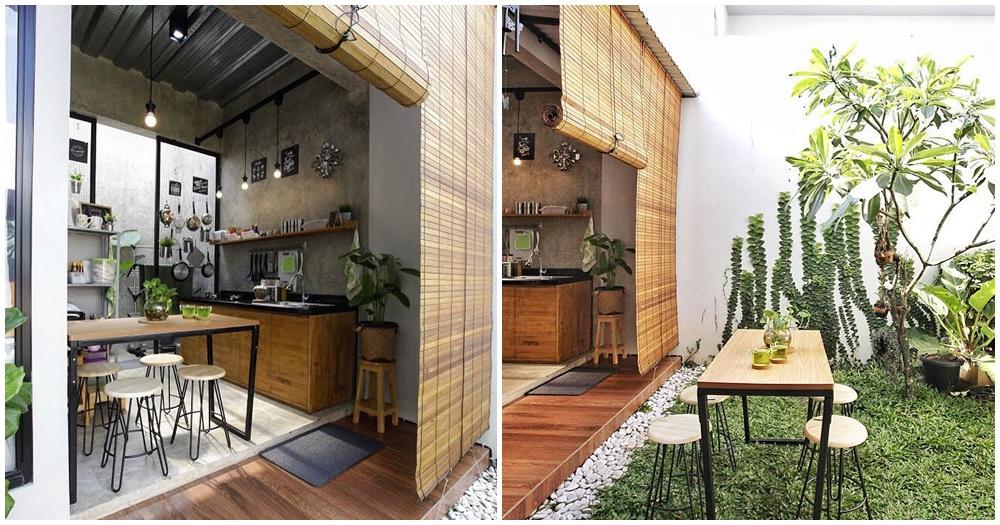 Desain Dapur Industrial Unik Ala Cafe - .id