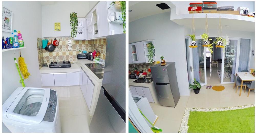 Desain Dapur Minimalis Terbuka Dibelakang Rumah