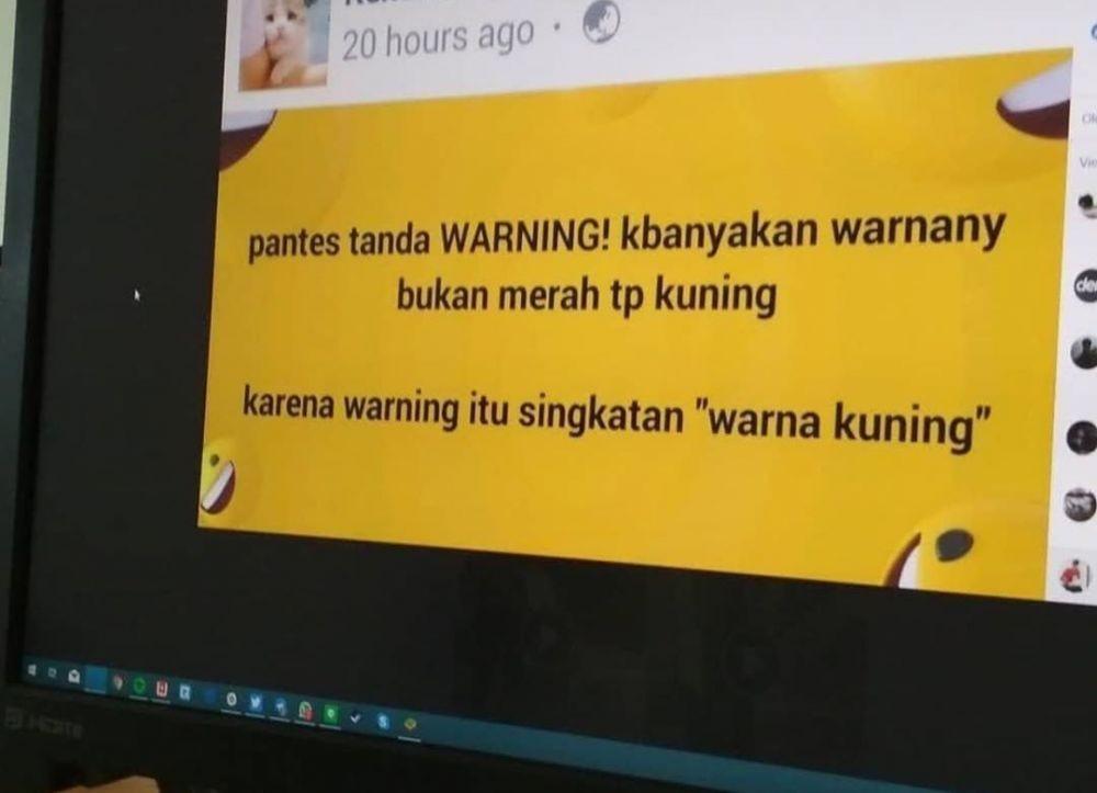 10 Unggahan Netizen 'Cuma Ngasih Tahu' Ini Ngawur Abis, Hati-hati!