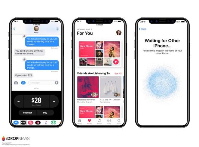 iPhone X Running iOS 11 Leaks