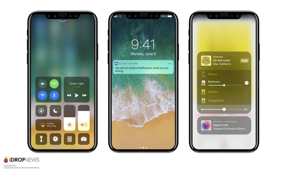 iPhone X iOS 11 Concept Image