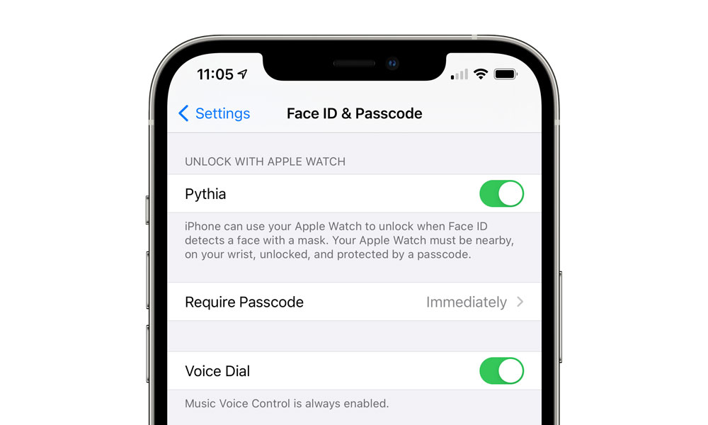 You Can Now Try Out Apple's New Mask-Aware Face ID