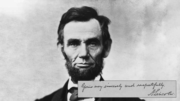 This Famous Abraham Lincoln Letter Wasnt Actually Written
