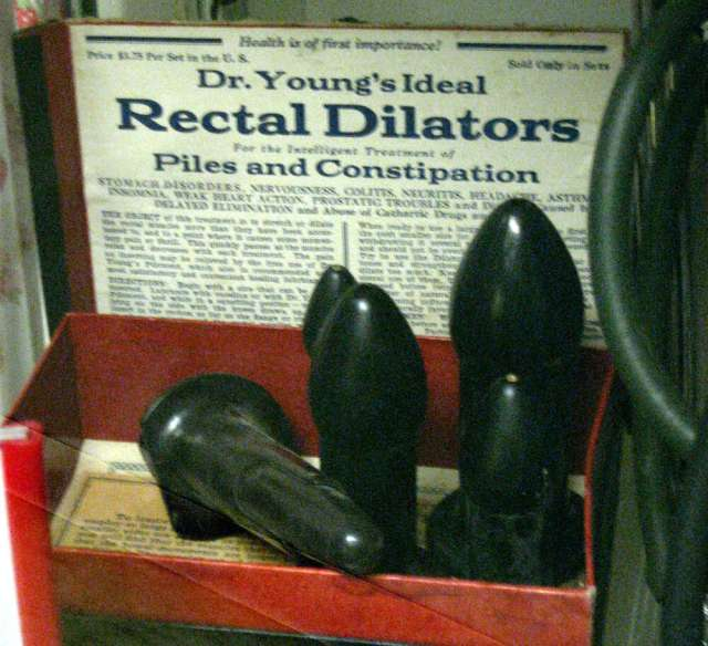Dr Young's Ideal Rectal Dilators