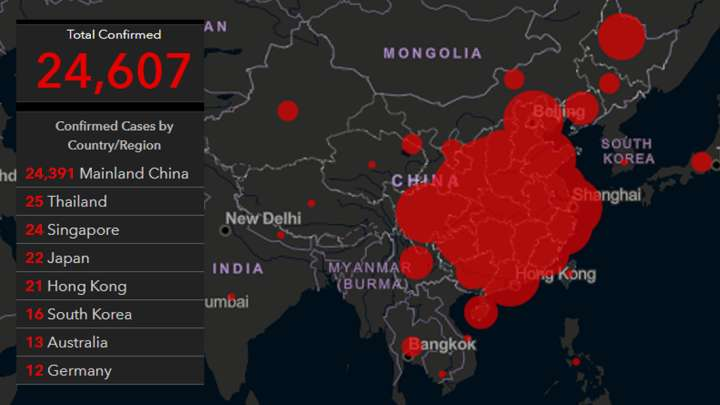 Live Map Lets You See The Startling Rise Of The Coronavirus ...