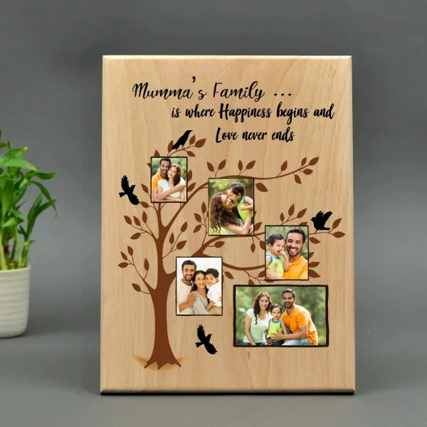 personalized big wooden mumma