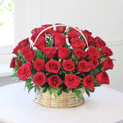 basket arrangement of 35