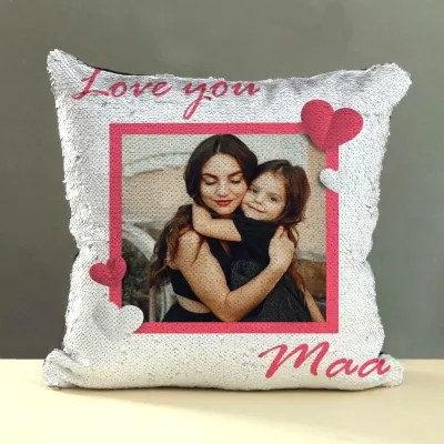 personalized mugs and pillow for mother