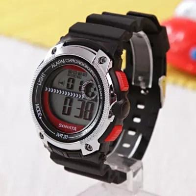sonata digital sporty watch
