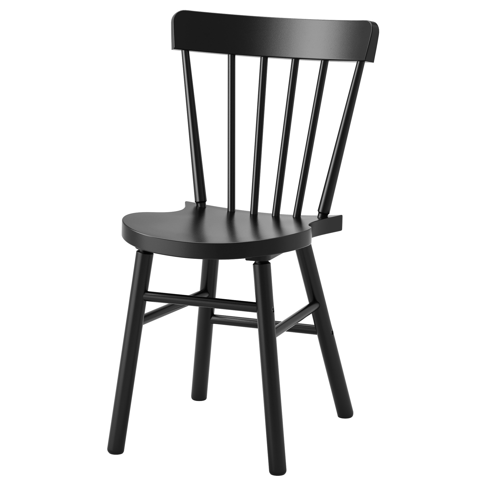 S Shaped Chair Norraryd Chair Black Ikea Kitchen