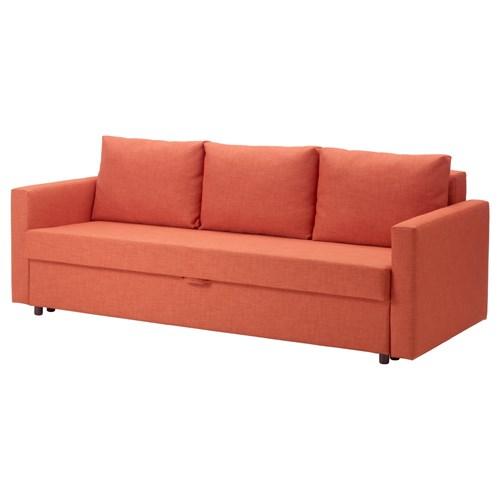 friheten corner sofa bed skiftebo beige 2 seater gumtree sydney 3-seat sofa-bed dark orange   ikea ...