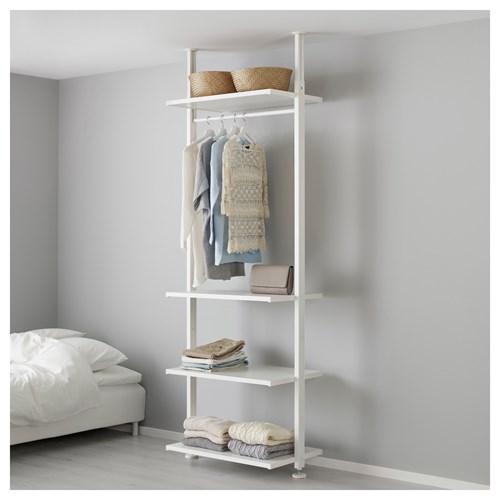 ELVARLI open storage unit white 92x51x222350 cm  IKEA