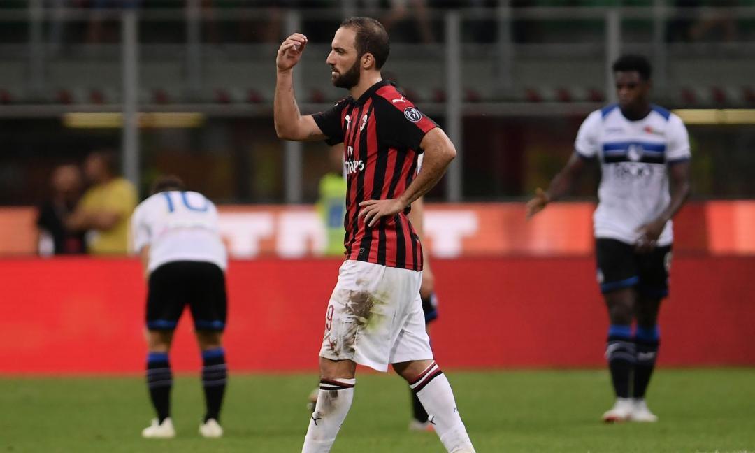 Milan in allarme problema fisico per Higuain