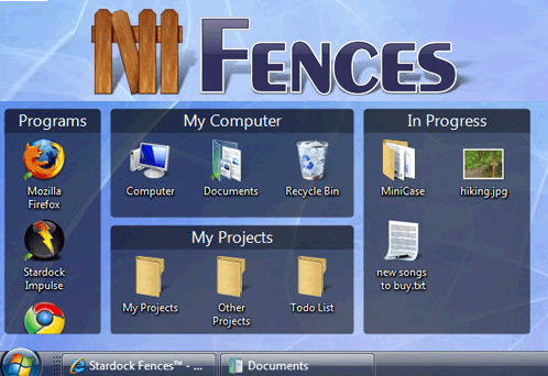 download fences free unclutter